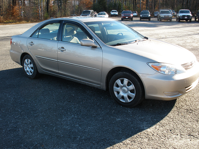 2002 Toyota Camry L And M Auto Used Cars In The